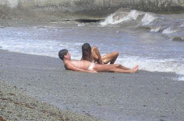 минет на пляже