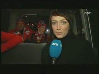 норвежские лыжники жгут