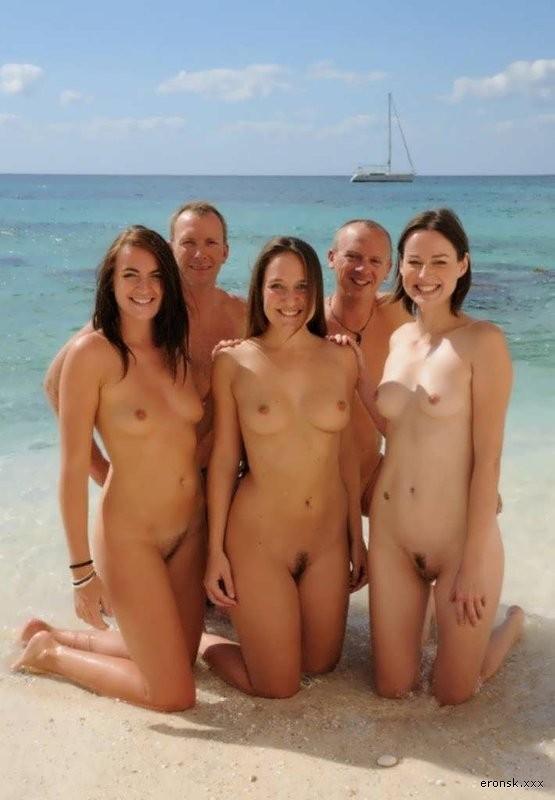 пляжный семейный отдых