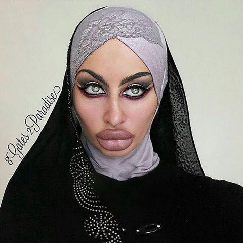арабские женщины открыли для себя ботулотоксин