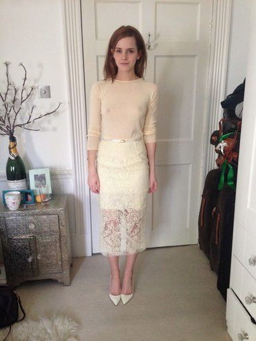 Emma Watson приносит 100 очков Гриффиндору